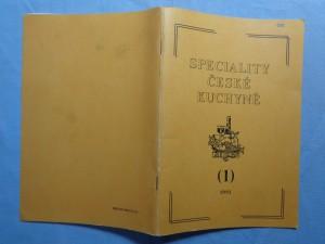 náhled knihy - Speciality české kuchyně