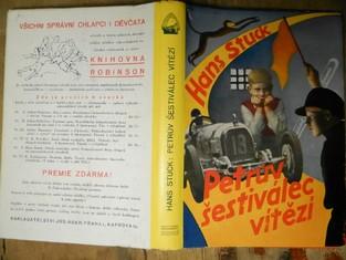 náhled knihy - Petrův šestiválec vítězí : Dobrodružství dvou chlapců na automobilových závodech