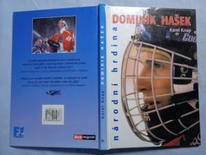 náhled knihy - Dominik Hašek: národní hrdina