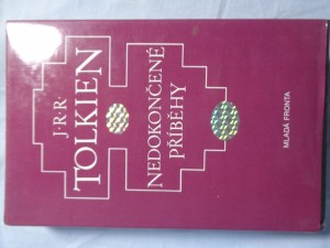 náhled knihy - Nedokončené příběhy Númenoru a Středozemě