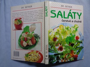 náhled knihy - Saláty čerstvé a chutné