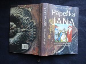 náhled knihy - Papežka Jana : fantastická legenda nebo historická skutečnost