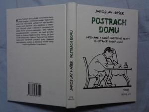 náhled knihy - Postrach domu: a jiné neznámé texty s dodatkem vzájemné tvorby s Jarmilou Haškovou : výběr z povídek, fejetonů a veršů, neobsažených ve Spisech J.H. 1955-1973