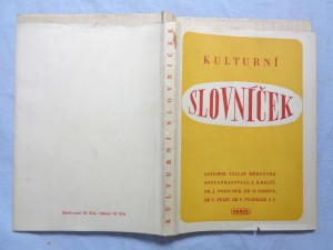 náhled knihy - Kulturní slovníček