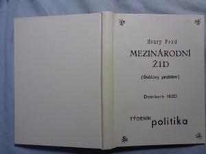 náhled knihy - Mezinárodní žid