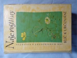 náhled knihy - Naše rostliny : klíč k určování