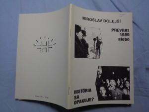 náhled knihy - Prevrat 1989 alebo História sa opakuje?