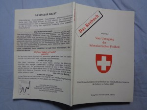 náhled knihy - Vom Untergang der Schweizerischen Freiheit