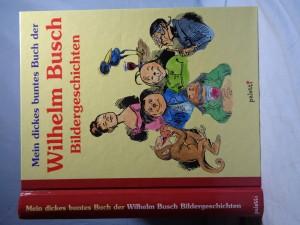 náhled knihy - Mein dickes buntes Buch der Wilhelm Busch Bildergeschichten