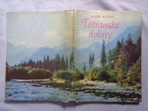 náhled knihy - Tatranské doliny : Mapový sprievodca