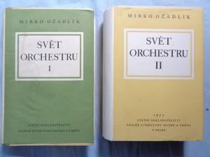 náhled knihy - Svět orchestru: průvodce tvorbou orchestrální. 1, 2
