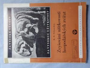 náhled knihy - Zvyšování užitkovosti hospodářských zvířat