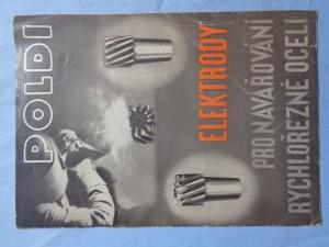 náhled knihy - Elektrody pro navařování rychlořezné oceli