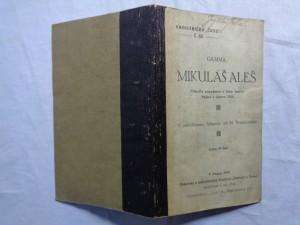 náhled knihy - Mikuláš Aleš : několik poznámek o jeho umění