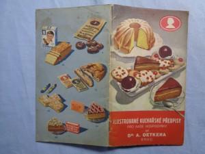 náhled knihy - Ilustrované kuchařské předpisy pro naše hospodyňky od Dr. A. Oetker