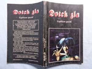 náhled knihy - Dotek zla
