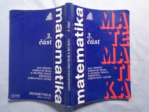 náhled knihy - Matematika 3.část pro střední odborné školy a studijní obory středních odborných učilišť