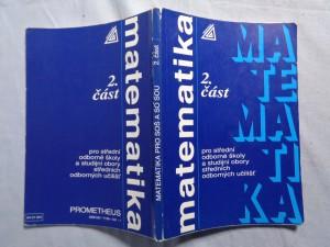 náhled knihy - Matematika 2.část pro střední odborné školy a studijní obory středních odborných učilišť