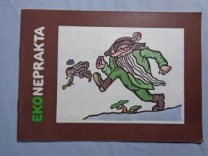 náhled knihy - Eko Neprakta : obrázky ze čtvrté výstavy kreslířů časopisu Krkonoše 4. výstava kreslířů časopisu Krkonoše Výstava kreslířů časopisu Krkonoše Neprakta EkoNeprakt