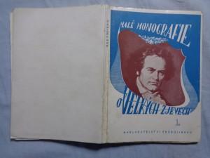 náhled knihy - Beethoven : s rozborem všech 9 symfonií a s obsahem opery