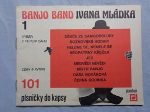 náhled knihy - Banjo Band Ivana Mládka. 1 : výběr z repertoáru : zpěv a kytara