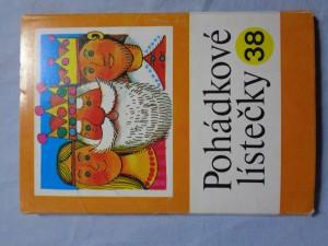 náhled knihy - Pohádkové lístečky : soubor osmi lidových pohádek. 38