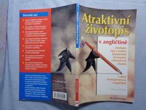 náhled knihy - Atraktivní životopis v angličtině