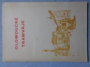 náhled knihy - Olomoucké tramvaje