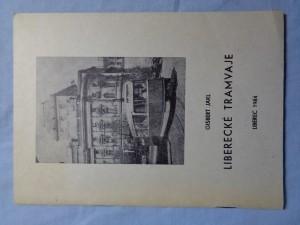 náhled knihy - Liberecké tramvaje
