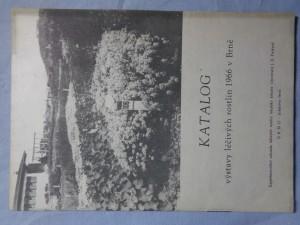 náhled knihy - Katalog výstav léčivých rostlin 1966 v Brně