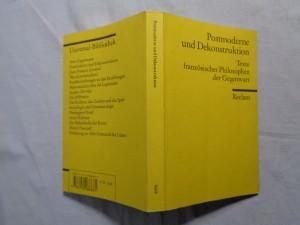 náhled knihy - Postmoderne und Dekonstruktion