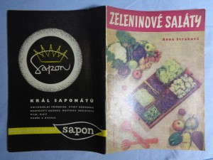 náhled knihy - Zeleninové saláty