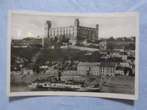 náhled knihy - Bratislava - Hrad a nábrežie.