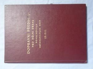 náhled knihy - Dopravní předpisy pro důlní dráhy povrchových hnědouhelných dolů