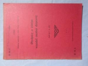 náhled knihy - Předpisy o čištění vozidel osobní dopravy