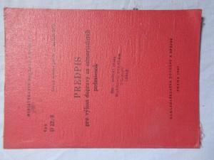 náhled knihy - Predpis pre výkon dopravy za mimoriadnych podmienok