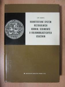 náhled knihy - Kvantitativní systém reziduálních hornin, sedimentů a vulkanoklastických usazenin