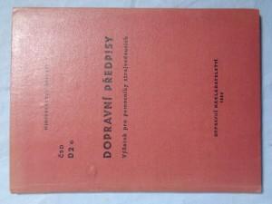 náhled knihy - Dopravní předpisy výňatek pro pomocníky strojvedoucích