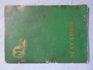 náhled knihy - Matador