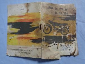 náhled knihy - Jawa 50, Typ 20, 21, 23 ,23A
