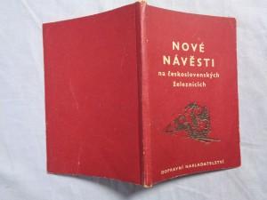 náhled knihy - Nové Návěsti na Československých železnicích