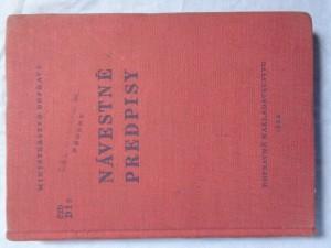náhled knihy - Návestné predpisy