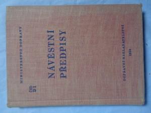 náhled knihy - Návěstní předpisy