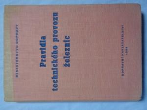 náhled knihy - Pravidla technického provozu železnic