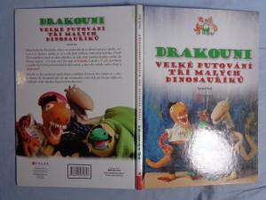 náhled knihy - Drakouni : velké putování tří malých dinosauříků. Kniha první, Jak přišli na svět