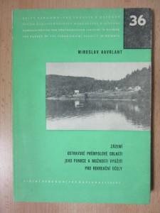 náhled knihy - Zázemí Ostravské průmyslové oblasti, jeho funkce a možnosti využití pro rekreační účely