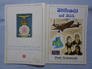 náhled knihy - Stíhači od 303.: na osudy československých pilotů u 303. polské perutě vzpomíná jeden ze čtyř účastníků J. Balejka