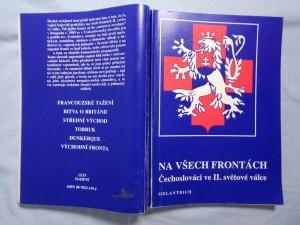 náhled knihy - Na všech frontách : Čechoslováci ve II. světové válce