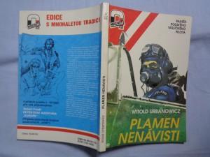 náhled knihy - Plamen nenávisti: paměti polského válečného pilota
