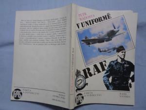 náhled knihy - V uniformě RAF